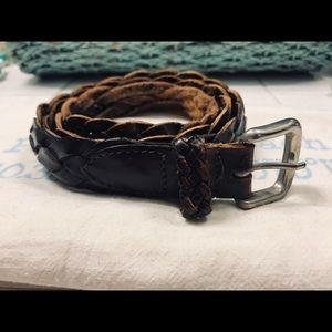 Men's Jcrew belt